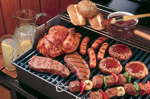 Product picture Gone Grilling  Creating Healthy Cooking